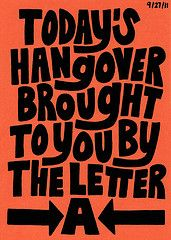 This Carolyn Sewell postcard shoulda been hanging on my bedroom wall this AM - a mere 6 hrs after bragging that I don't get hangovers. Tv Quotes, Smile Quotes, Quotable Quotes, Make Me Happy, Make Me Smile, Thought Of The Day, Typography Quotes, True Facts, Fun Prints