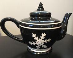 Cup Mat, Tea For One, Flower Branch, Ceramic Teapots, White Snowflake, Shape Design, White Christmas, Pantone, Tea Pots