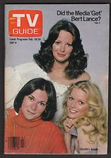 Charlie's Angels Kate Jackson Cheryl Ladd Jaclyn Smith 1978 TV Guide Magazine