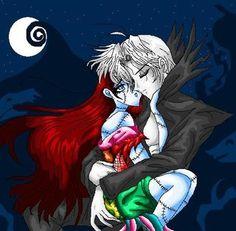 Anime Sally, Jack, moon (The Nightmare Before Christmas) photo AnimeJackSally.jpg