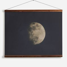 19th century photograph of the Moon Wall Chart from £160 - National Maritime Museum | Shop Cushions & Wall Murals at surfaceview.co.uk