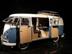 1961 VW T-2 Double Door Camper