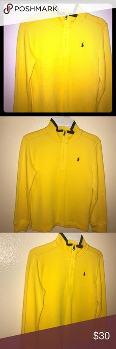 Boys Polo long sleeve New with tags,  boys 7,  100% cotton, thick material Polo by Ralph Lauren Shirts & Tops
