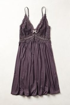 Eberjey Colette Chemise Brown S Lounge