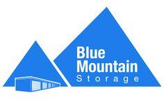 Blue Mountain Storage Logo created by Fusion Studios Inc. Web Design, Logo Design, Logo Creation, Blue Mountain, Corporate Identity, Studios, Branding, Storage, Purse Storage