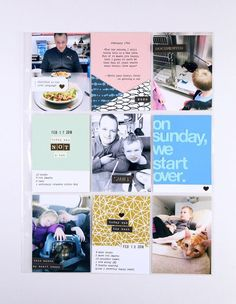 Bookmarked Pen Name - Sunday by PamBaldwin at Studio Calico Pen Name, Studio Calico, Get Excited, Travelers Notebook, Project Life, Sunday, Projects, Scrapbook Layouts, Albums