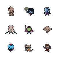 Marvel® Guardians of the Galaxy Kawaii Digital Cartridge
