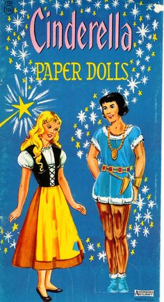 In the 60's Saalfield revamped a Cinderella paper doll set that was originally published in 1950.  The dolls were modernised although Princ...