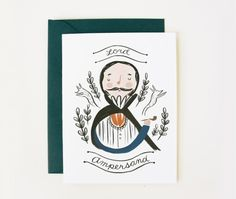 Illustrated Stationery by Quill and Fox via Oh So Beautiful Paper (9)