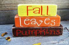10 Fall Craft Ideas | Fun Home Things