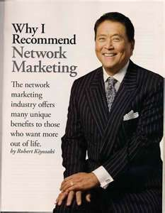There is a reason Robert Kiyosaki is respected in the business world. If you have a closed mind to what he has to say what does that say about you? An open mind often leads to abundance.