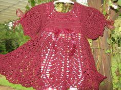 Tuscan Lace Dress free crochet graph pattern