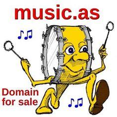 Domain zu verkaufen: music.as #domain #musikdomain #musik #webseite #website #url #musicas #music Bart Simpson, Fictional Characters, Music, Website, Fantasy Characters