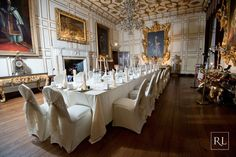From intimate wedding breakfasts, to magnificent receptions, your wedding at Warwick Castle will be a truly memorable and unique day. Warwick Castle, State Room, Castles, Medieval, Places To Go, Families, How To Memorize Things, Table Settings, Wedding Inspiration