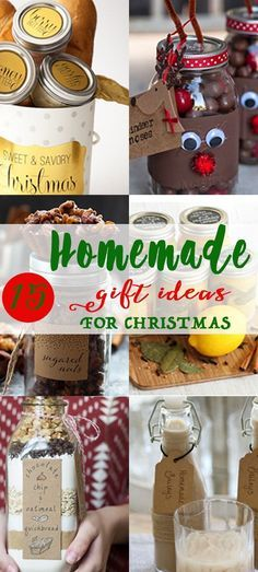 Homemade food gifts are super easy to make, affordable and unique...your friends and family will be pleasantly surprised! I rounded up some of my favorite edible Christmas gift ideas, there is something for everyone including cranberry white chocolate cookies in a jar, infusing sugar, gingerbread granola, homemade vanilla extract, and more.