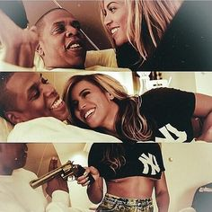 """Beyoncé - """" Do I Bring Out The Best In You ?"""" Jay - """" Absolutely"""""""