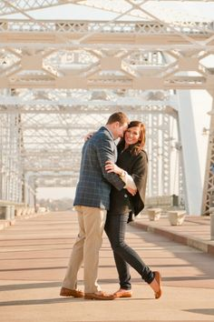 Downtown Nashville Engagement by Bethany Ann Photography | The Lovely Find