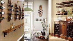 Варианты хранения вина дома, которые сэкономят пространство и создадут интересную атмосферу.