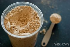 How to use powdered peanut butter