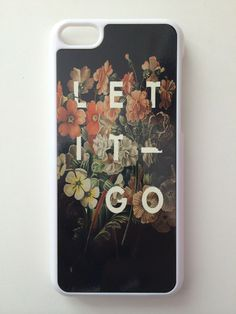 Let It Go Floral iPhone Case | Wild Daisy
