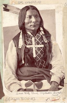 Lone Wolf in Old Photos from Oglala | Sioux Research-Dakota, Lakota, Nakota