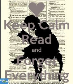 Keep calm and read a book.❤️