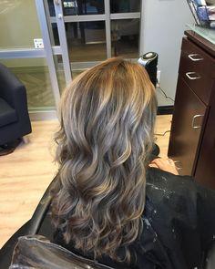 blended balayage hair by brandie hayes at b. suite salon in atlanta ga. #atlanta #bsuitesalon #hair #atlantahair
