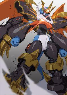 Imperialdramon fighter mode