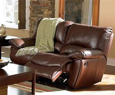 This durable and comfortable motion set features padded arms, recliners on the sofa ends and loveseat. Kidney support backs for added comfort. Also available matching glider recliner chair. MOTION LOVE SEAT x x Brown Leather Loveseat, Leather Reclining Loveseat, Leather Recliner Chair, Leather Sofa, Leather Furniture, Black Leather, Loveseat Recliners, Sectional Sofa With Recliner, Couches