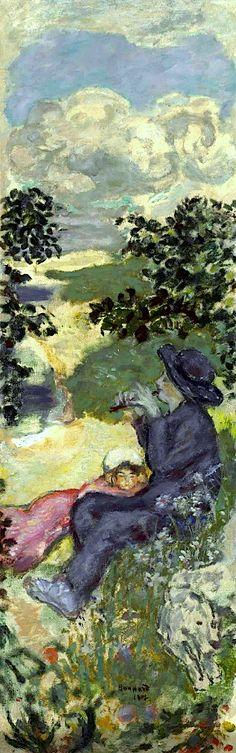 Pierre Bonnard (1867-1947) Père et fille