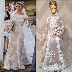 ⚜Ana Camila ❤⚜ #Reeleitura #sammurakammi #bride #noiva #noivasdeluxo #dress #replicated #altacostura #hautecouture #dolls #weddingdolls #barbie #barbienoiva #barbiestyle #cerimonial #weddingplanner #photo #weddingphotography #fotografiadecasamento #art #artesanal #feitoamao #handmade #sougrato #fabulous #love #glam #fabulous #love #dreams