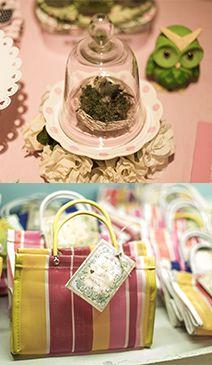 detlahe da lembrancinha da festa de borboletas e pássaros da Maria 2 anos...babolina.com.br