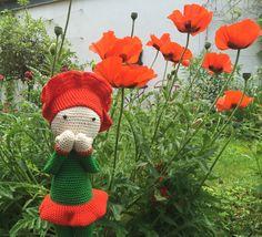 Poppy Paola made by Tanja - pattern by Zabbez