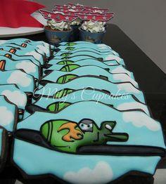 Planes Disney Ripslinger cookies