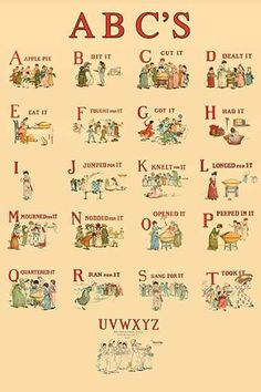 Kate Greenaway's ABC's