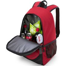 """Promising Review: """"I got this backpack in December and literally use it every day. Not only do I use it to keep water and drinks cool, but it also stores a decent amount of things. It can hold lunches, books, and even a laptop. It also has a little pocket on the back that I use to store miscellaneous items, like a first-aid kit, pens, and phone chargers."""" —D. LevakPrice: $43.99 (available in four colors)"""