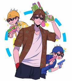 Boboiboy Anime, Anime Art, Boboiboy Galaxy, Asuna, A Comics, Cartoon Art, My Childhood, Dankest Memes, In This World