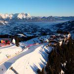 Follow the snow to the top ten ski resorts in Europe, including St. Anton, including Kitzbühel, Austria.