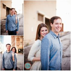 Engagement photos, kansas city, Downtown; Meagan and Nate Photography