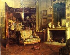 It's About Time: Interiors by American in Paris Walter Gay 1856-1937