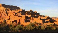 kasbha de ouarzazt en marruecos