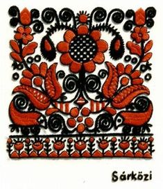 Folk Embroidery Hungarian embroidery More - Hungarian Embroidery, Folk Embroidery, Learn Embroidery, Shirt Embroidery, Modern Embroidery, Chain Stitch Embroidery, Cross Stitch Fabric, Embroidery Stitches, Embroidery Patterns