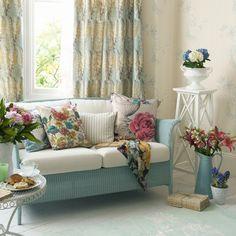花柄インテリアで作るいろいろなスタイル。タイプ別にご紹介します!   iemo[イエモ]