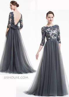 Perfect balance between sexiness and elegance was achieved in this evening dress.  #JJsHouse #Eveningdresses