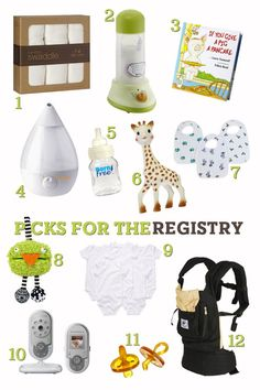 baby registry picks - Sugar and Charm - sweet recipes - entertaining tips - lifestyle inspiration