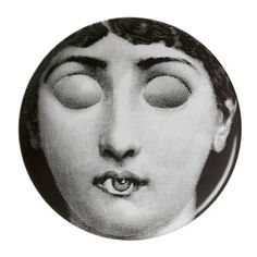 Fornasetti Plate wall plate No. 17 MOSS EXCLUSIVE designer: Piero Fornasetti design year: 1954 manufacturer: Fornasetti, Italy materials: printed porcelain $245.00