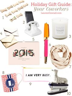 Holiday Gift Guide: For Your Coworkers
