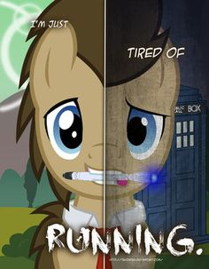MLP - Two Sides of Doctor Whooves by *TehJadeh on deviantART