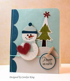 """Echo Park Paper """"Holly Jolly Holidays"""" Blog Hop! Stop 6 at My Blog by Cammie (Carolyn King)"""