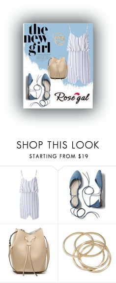 """""""the new girl"""" by christy-vnk on Polyvore featuring Gap and ABS by Allen Schwartz"""